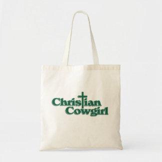 Christian Cowgirl Canvas Bag