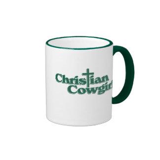 Christian Cowgirl Ringer Mug