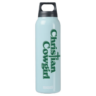Christian Cowgirl 16 Oz Insulated SIGG Thermos Water Bottle