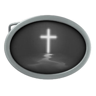 Christian Cross Belt Buckle