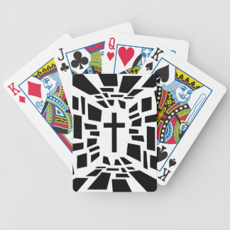 Christian Cross Bicycle Playing Cards