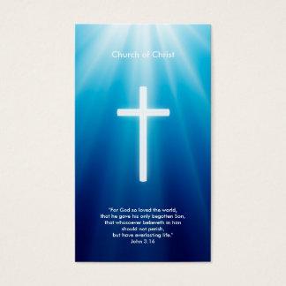 Christian Cross | Blue Rays