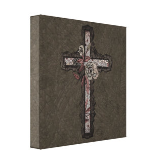 Christian Cross Canvas Print