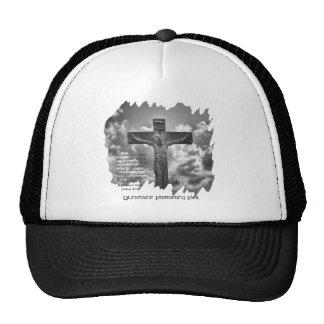 Christian Cross Mesh Hats