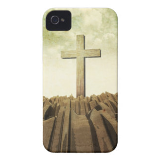 Christian Cross iPhone 4 Case-Mate Case