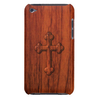 Christian Cross Barely There iPod Cases