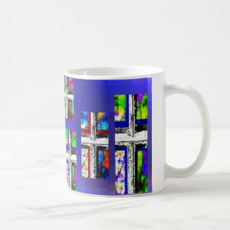 Christian Cross Collage Multi Color by JudyMarisa Coffee Mug