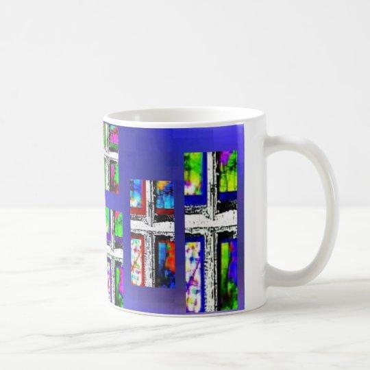 Christian Cross Collage Multi Colour by JudyMarisa Coffee