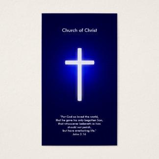Christian Cross | Dark Blue