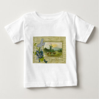 Christian Cross Forget Me Not Windmill Cow Pasture T-shirts
