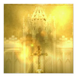 Christian Cross Invitations