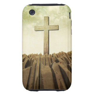 Christian Cross iPhone 3 Tough Cases