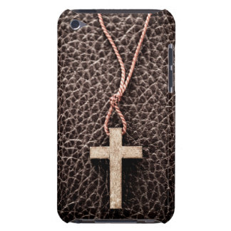 Christian Cross on Bible iPod Case-Mate Cases