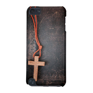 Christian Cross on Bible iPod Touch 5G Cases