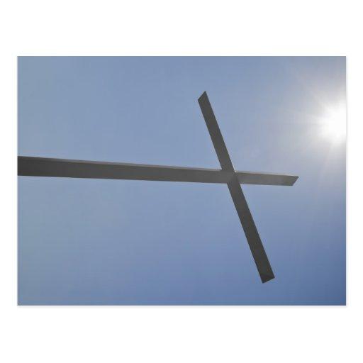 Christian Cross Post Card