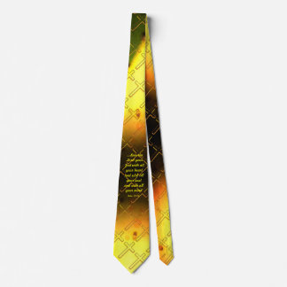 Christian Cross Scripture Tie