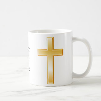 Christian Cross Symbol Basic White Mug