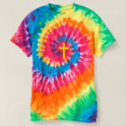 """CHRISTIAN CROSS"" TIE-DYE SPIRAL T-Shirt"