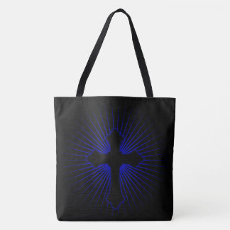 Christian Cross Tote Bag