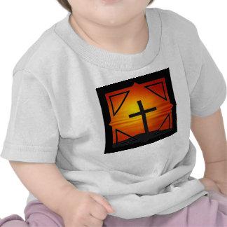 CHRISTIAN CROSS T-SHIRTS