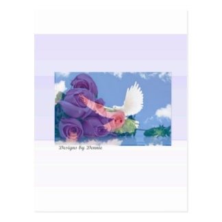 Christian Dove & Cross Collection Post Cards