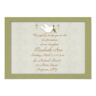 Christian Dove Invitation