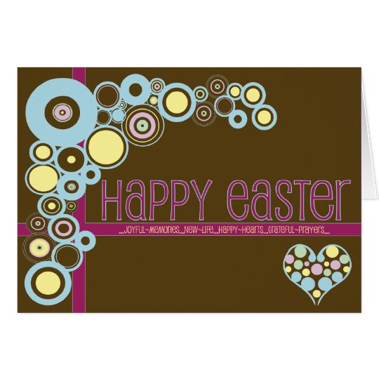 Christian easter gifts gift ideas zazzle uk christian easter card love n circles negle Images
