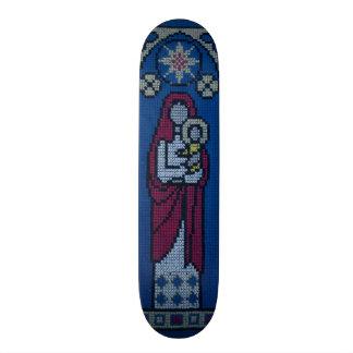 Christian embroidery skateboards