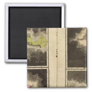 Christian era 1921 square magnet