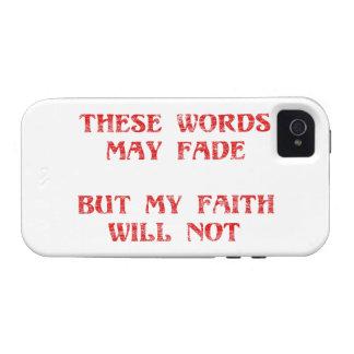 Christian Faith Vibe iPhone 4 Case