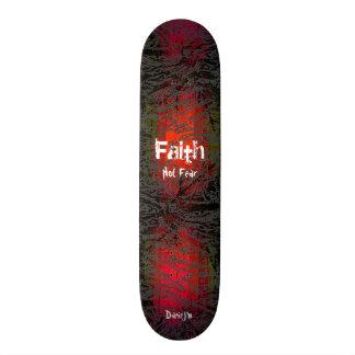 Christian Faith Grungy Skateboard