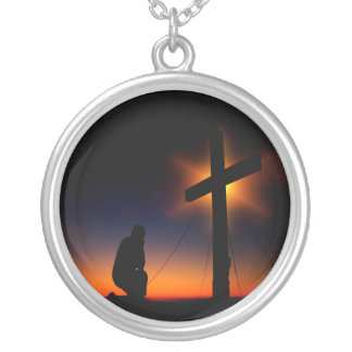 Christian Faith Silver Plated Necklace