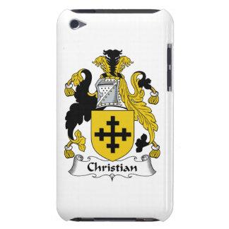Christian Family Crest iPod Case-Mate Case