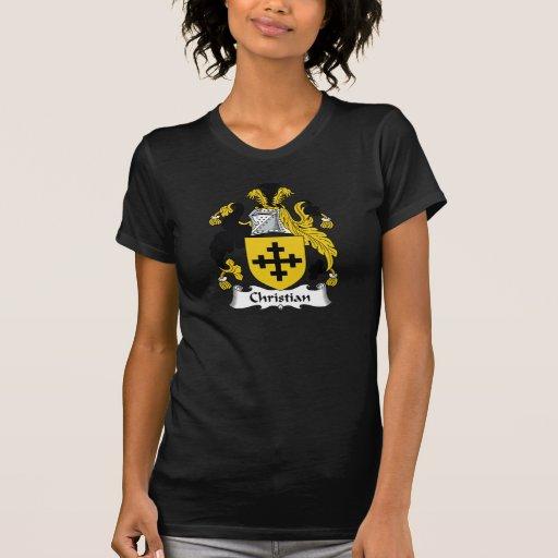 Christian Family Crest Tshirts