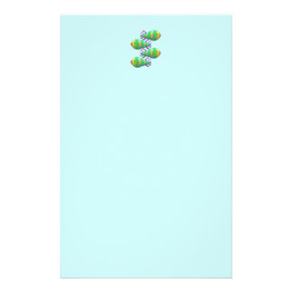Christian Fish Symbol Families Personalised Stationery