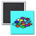 Christian Fish Symbols - Rainbow School -
