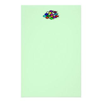 Christian Fish Symbols - Rainbow School - Customised Stationery