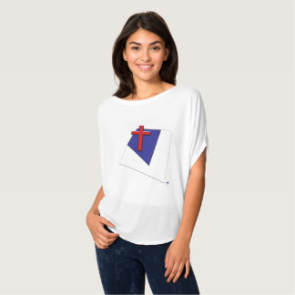 Christian Flag Abstract T-Shirt