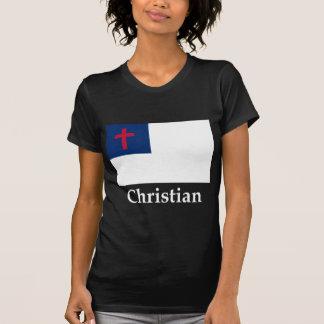 Christian Flag And Name Tees