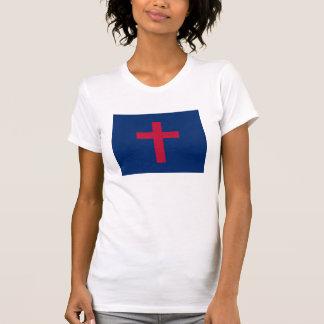 Christian Flag Cross T-shirt