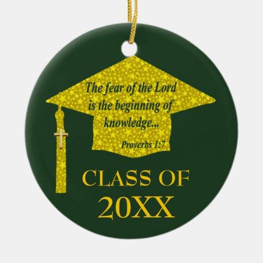 Christian Graduate Christmas Ornament