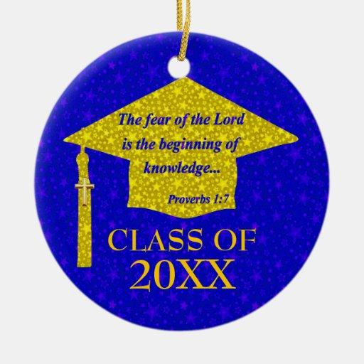 Christian Graduate Christmas Ornaments