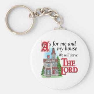 Christian Greetings Basic Round Button Key Ring