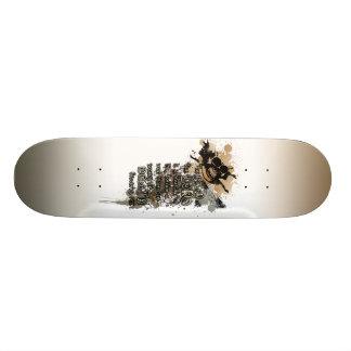 Christian Grunge Custom Skate Board