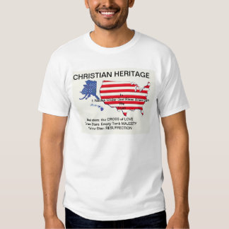 Christian Heritage t-shirt by agoragape