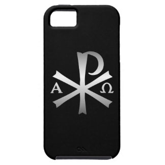 Christian Icon Alpha and Omega Labarum iPhone 5 Covers