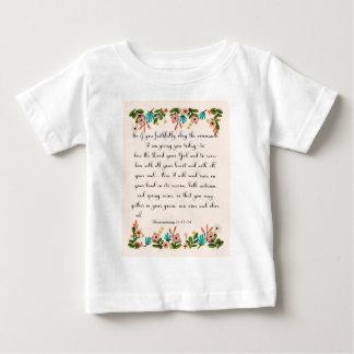Christian inspirational Art - Deuteronomy 11:13-14 Shirt