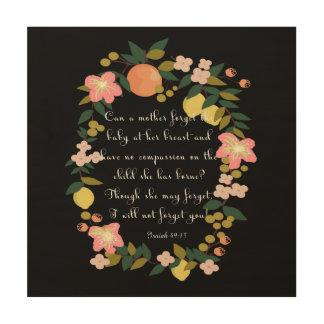 Christian inspirational Art - Isaiah 49:15