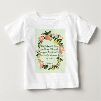 Christian inspirational Art - Jeremiah 3:19 Infant T-Shirt