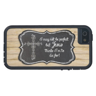 Christian Inspirational Jesus Cross Chalkboard Case For The iPhone 5